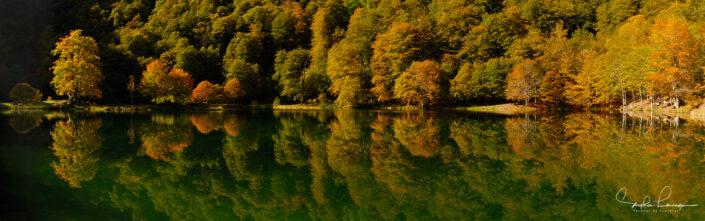 Photo Pyrénées Ariège Couserans - lac Bethmale
