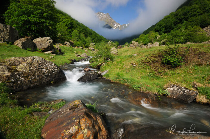 Photo Pyrénées Ariège Couserans - Cirque de La Plagne