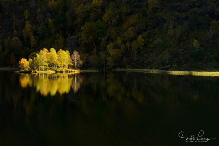 Photo Pyrénées Ariège Couserans - Etang de Lers