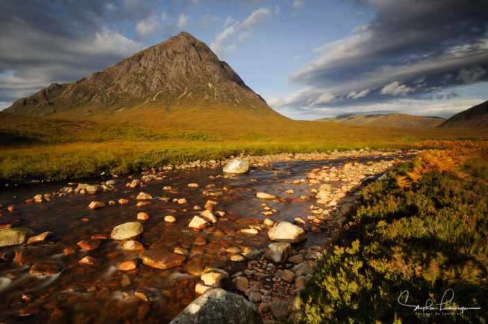 Photo Ecosse - River coupall - buachaille etive mor