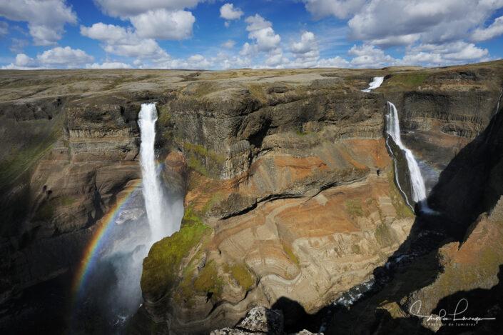 Photo Islande - Haifoss et Granni
