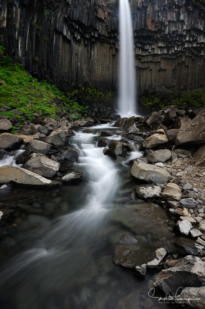 Photo Islande - Skaftafell - Svartifoss