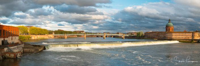 Photo Toulouse - Pont Saint-Pierre - La Grave - Bazacle